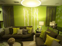 Wallpaper And Paint Living Room Room Paint Green Living Room Wallpaper Living Room Mommyessencecom