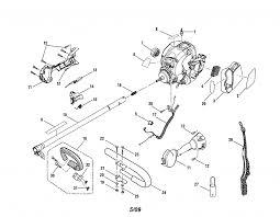 Enchanting craftsman weed eater parts diagram images best image