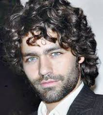 long curly hairstyles for men 9