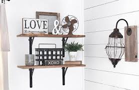 wall sconce light fixture farmhouse and barnyard decor rustic industrial metal distressed plug in led light