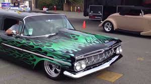 Must see flamed black 1959 Chevrolet Biscayne wagon pro touring ...