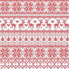 Christmas Pattern Sweater New Decoration
