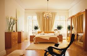 Bedroom Modern Interior Bedroom Decorating With Parquet Flooring - Interior of bedroom