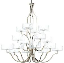 16 light chandelier progress lighting transitional touareg 35 wide gold crystal