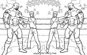 Sumptuous Design Ideas Wwe Colouring Pages Coloring Printable