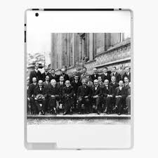 1927 Solvay Conference on Quantum Mechanics Physics Albert Einstein Marie  Curie Photo Art