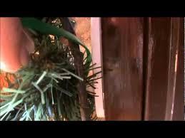 how to hang garland around front doorEpisode 57 Hanging Garland Around the Door  YouTube
