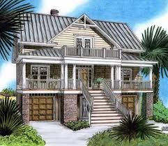Plan 15019NC Raised Beach House Delight  Beach House And Beach Elevated Home Plans