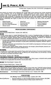Examples Of Rn Resumes Fascinating Examples Of Resumes For Nurses44 Nurse Resume Example Professional