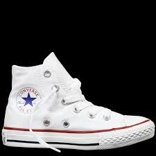converse for kids. chuck taylor all star junior high top white converse for kids .