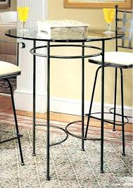 small round bar table glass dining tables unique and breakfast stools