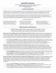 Marketing Resume Sample Word New Marketing Resume Template