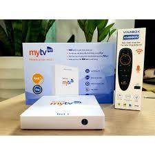 Android Box MyTV NET1 RAM 2G/ROM 16G - VNPT cao cấp cho gia đình Việt -  Tặng chuột Wireless 200K - Hàng Chính Hãng
