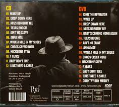 Songs For The Road Big Daddy Wilson Songs From The Road Cd Dvd