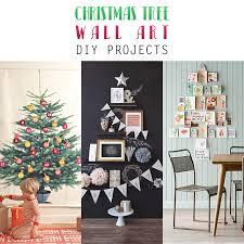 tree wall art diy projects