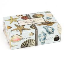 Seashell Design Buy The Michel Design Works Seashells Boxed Bar Soap At The Soap Opera