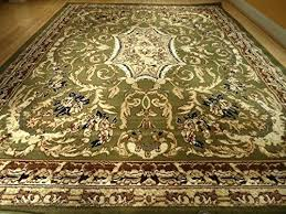 new large green rug traditional living room area rugs black cream beige brown design classic carpet