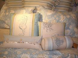 Natural Shells Quilt from C&F, reversible to stripe – Beach House ... & Natural Shells Quilt Adamdwight.com