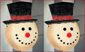 outdoor snowman decorations outdoor snowman lights a the best option outdoor decorations to light up