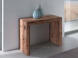 wooden console table. Extending Rectangular Wooden Console Table GLASS | By Ozzio Italia