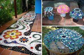 garden mosaics. Exellent Garden 28 Stunning Mosaic Projects For Your Garden On Mosaics I