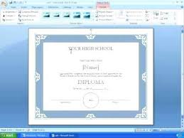 Award Certificate Templates Word Tutorial Making A With Template ...
