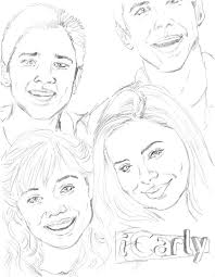 Small Picture Icarly Coloring Pages Coloring Pages To Print