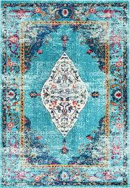 overdyed saturated greatness this is rugs usa s chroma cb26 iris scheme of bright fl rug