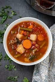 instant pot vegetable soup a mind
