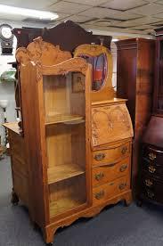 antique oak secretary desk lovely early 20th c antique oak larkin secretary desk bookcase