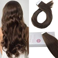 Chocolate Hair Weave Color Chart Moresoo Tape In Chocolate Brown 4 Brazilian Remy Human Hair Extension 4 Moresoo