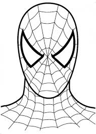 Why not urge your clever young learner to create their own adventures in spiderman comic? Easy Drawings Spiderman Coloring Spiderman Face Spiderman