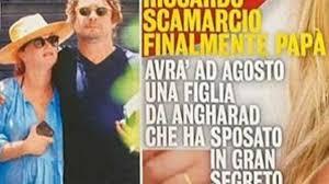 Riccardo Scamarcio diventerà padre, primo figlio in arrivo dalla manager Angharad  Wood