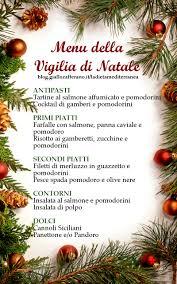 Menu della Vigilia di Natale | Dieta Mediterranea di Miriam Scalici