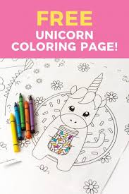 Scroll to see 19+ free printable unicorn coloring sheets and download them today! Printable Unicorn Coloring Page Design Eat Repeat