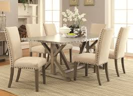 stylish ideas dining table with upholstered chairs honing