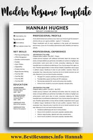Resume Template Hannah Hughes Construction Marketing Job Resume