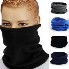 Unisex <b>Winter Outdoor</b> Sport Thermal Polar <b>Fleece</b> Scarf Face Mask ...