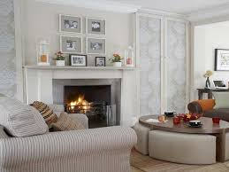 fireplace mantel decor for summer