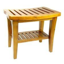 teak bathroom stools. Wood Shower Seat Bench Solid Teak Bathroom Stool Toilet Tub Freestanding Adult Stools