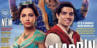 here s the first look at naomi scott as princess jasmine in disney s live action aladdin
