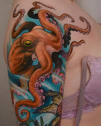 Tattoo Done By Peter Lagergren Pulpo Octopus Octopustattoo