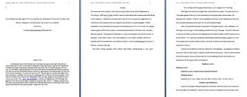 Apa Formatted Paper Template Essay Format Word 6th With At