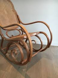 vintage bentwood rocking chair 1970s for at pamono