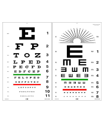 Where Can I Buy An Eye Chart Edulab Kindergarten Eye Chart With Color Symbols Buy Online