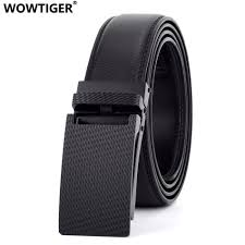 Mens Red Designer Belts Us 9 91 54 Off Wowtiger Mens Automatic Buckle Cow Genuine Leather Luxury Belts Male Alloy Buckle Black Red Brown Belts For Men Ceinture Homme In