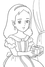 136 Dessins De Coloriage Princesse Imprimer