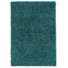 linon home decor confetti turquoise 8 ft x 10 ft area rug