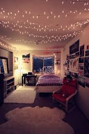 Creativity Tumblr Bedrooms With Fairy Lights Light And Room Image For Design Inspiration