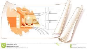 interior designers drawings. Interior Design Drawings Stock Photo Interior Designers Drawings